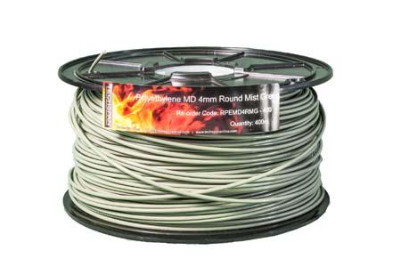 400m RPEMD4RMG PEMD 4mm Round Mist Green